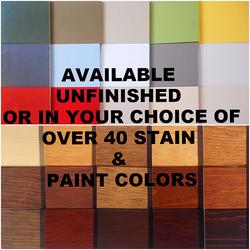 Lewiston Color Options