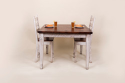 SQUARE TABLE WITH 2 CHAIRS (PUB HEIGHT)