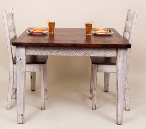 Reclaimed Oak Farmhouse Table - Farm table austin