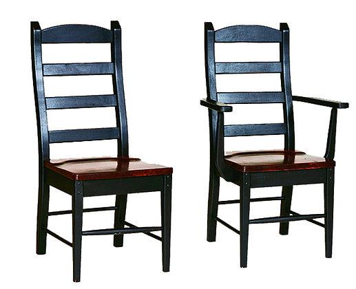 Warwick Shaker Ladderback Side & Arm Chair $265-$290