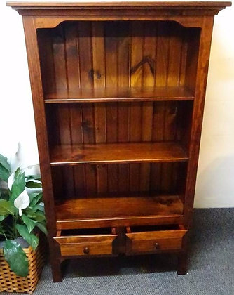 Lititz Wide Bookcase with Adjustable Shelves $405-$440