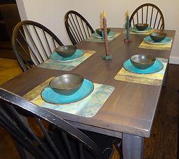 Reclaimed Oak Farm Table