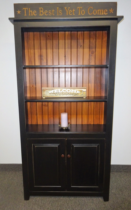 The Baron 6 Ft Tall Bookcase With Doors 425