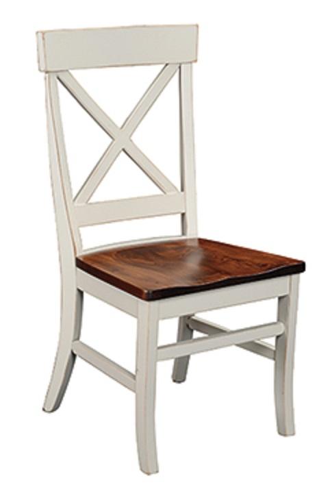 """Single X"" Side Chair"