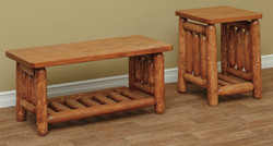Coffee & End Table in Classic