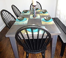 Solid Wood Farm Tables