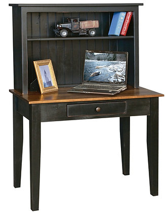 The Weaverland Computer Desk - With or Without Hutch  $310-$440