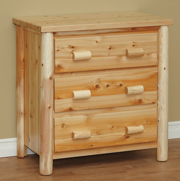 Three Drawer Chest in Classic