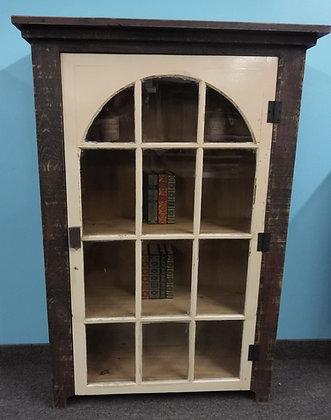 Arch 12 Light Glass Door Cabinet  $495