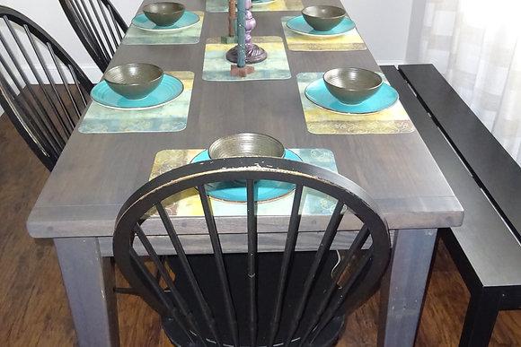 Reinhold Reclaimed Oak Farm Table $990-$1,800