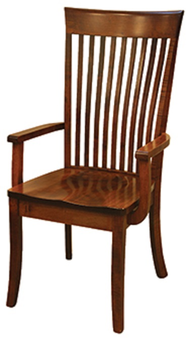 """OW Shaker Bent Paddle"" Arm Chair"