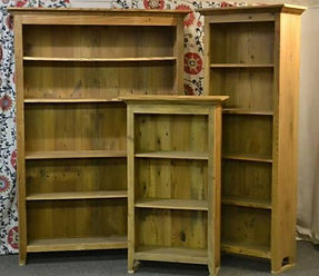 BOOKCASES GROUP OF 3.jpg