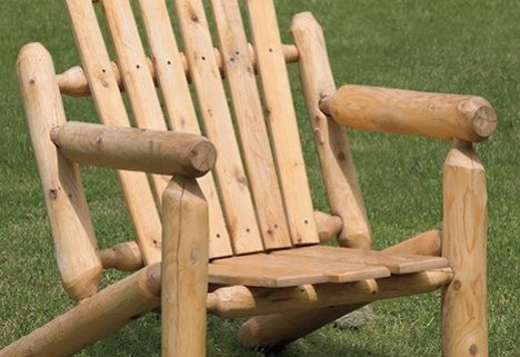 Close Up of Adirondack Chair