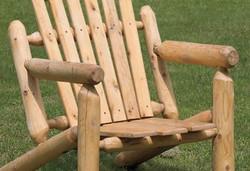 Close Up of Adirondack Chair
