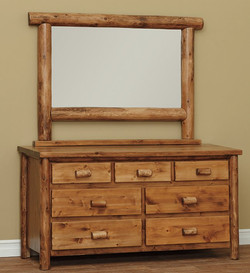 Seven Drawer Dresser in Classic