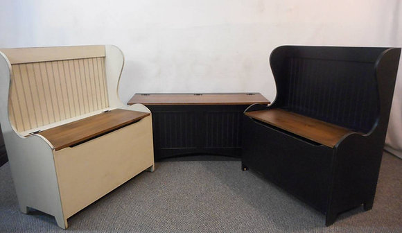 The Wakefield Storage Bench - With or Without Back  $325