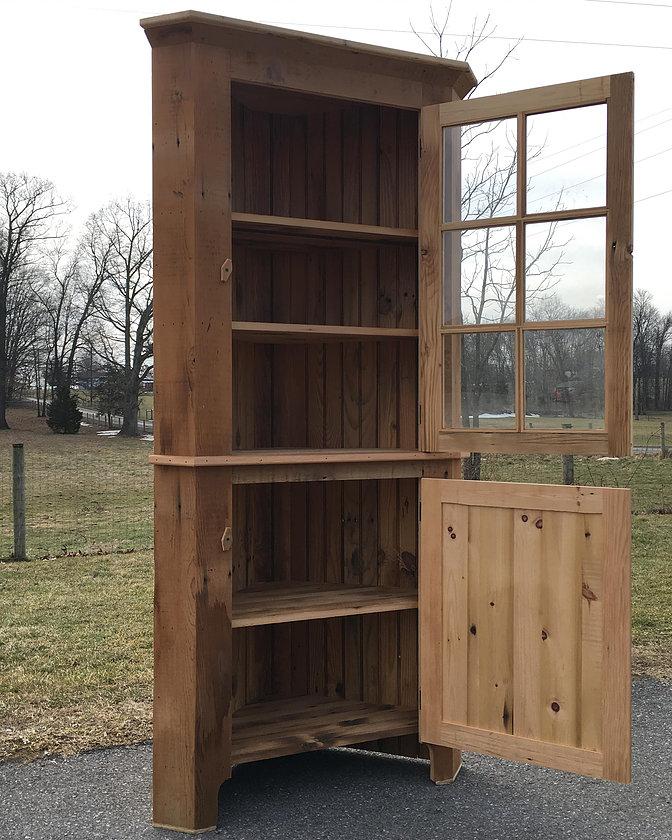 Reclaimed Haystack Corner Cabinet