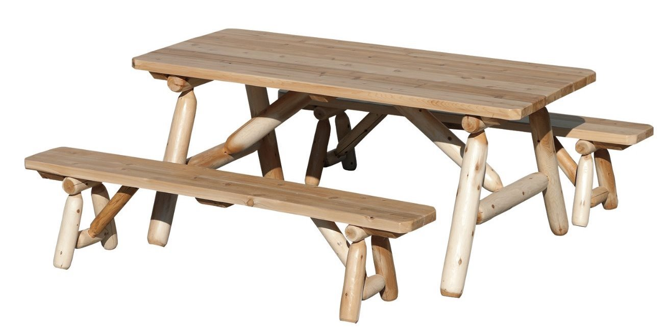 Picnic Table with Standing Benches