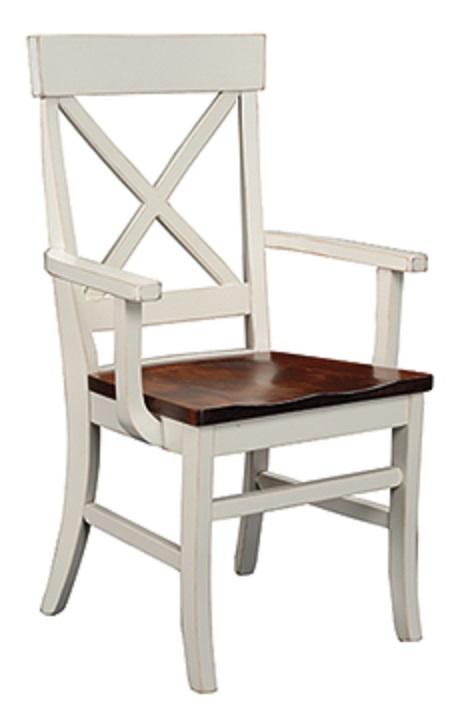 """Single X"" Arm Chair"