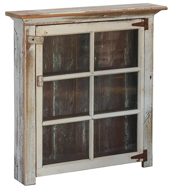 Bath Cabinet with Glass Door