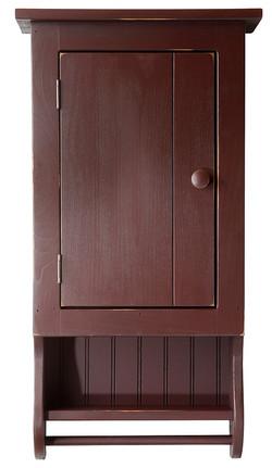 Rustic Wood Medicine Cabinet