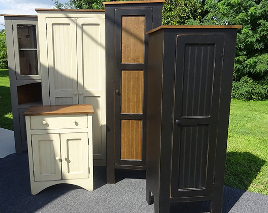 ANY Cabinet ANY Size ANY Color!  It's yours with our Amish Country Collection!