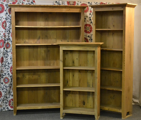 Lewistown Country Bookcases  Many Sizes and Color Options