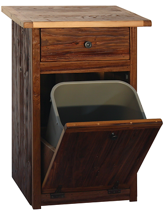 The West Willow Trash Basket or Laundry Hamper  $265