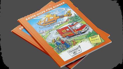 """gd inside unterstützt zum zweiten Mal das """"Erste-Hilfe-Buch"""" für Kinder"""
