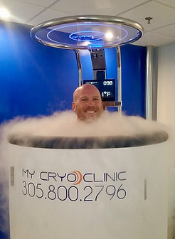 Cryo is great before a massage.
