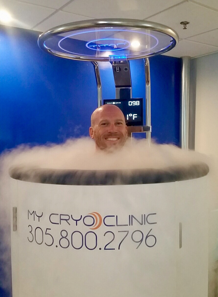 cryo is great before a massage