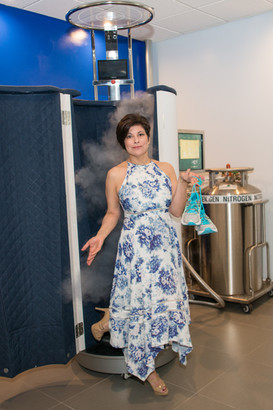 Margaret loved cryo so much, she built a cryo suite