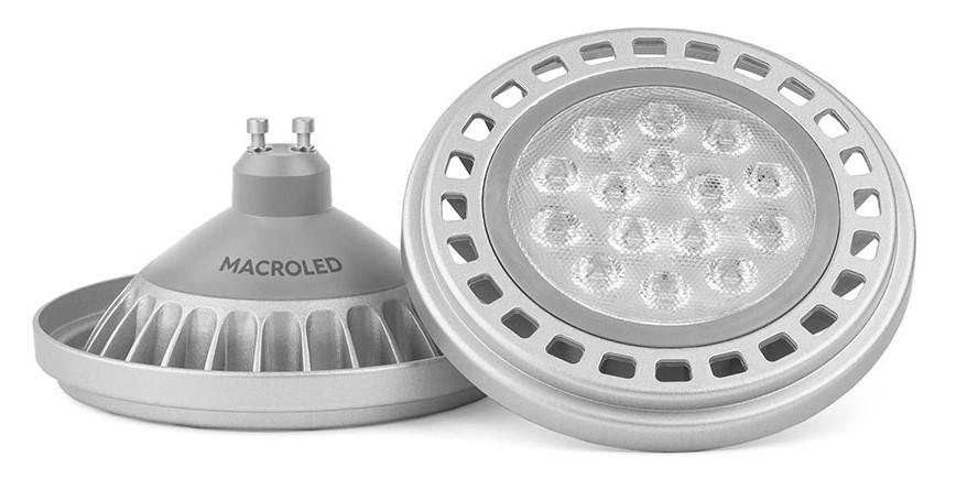AR111 Aluminio Macroled