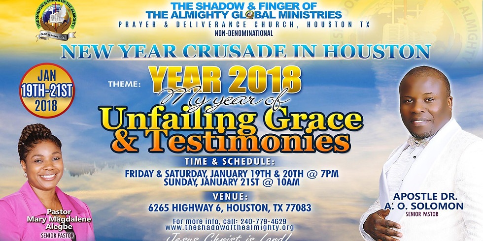 New Year Crusade in Houston TX