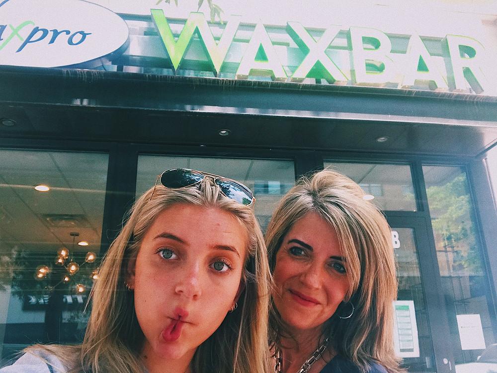 Lexy Silverstein and Kathy Silverstein at WaxPro WaxBar