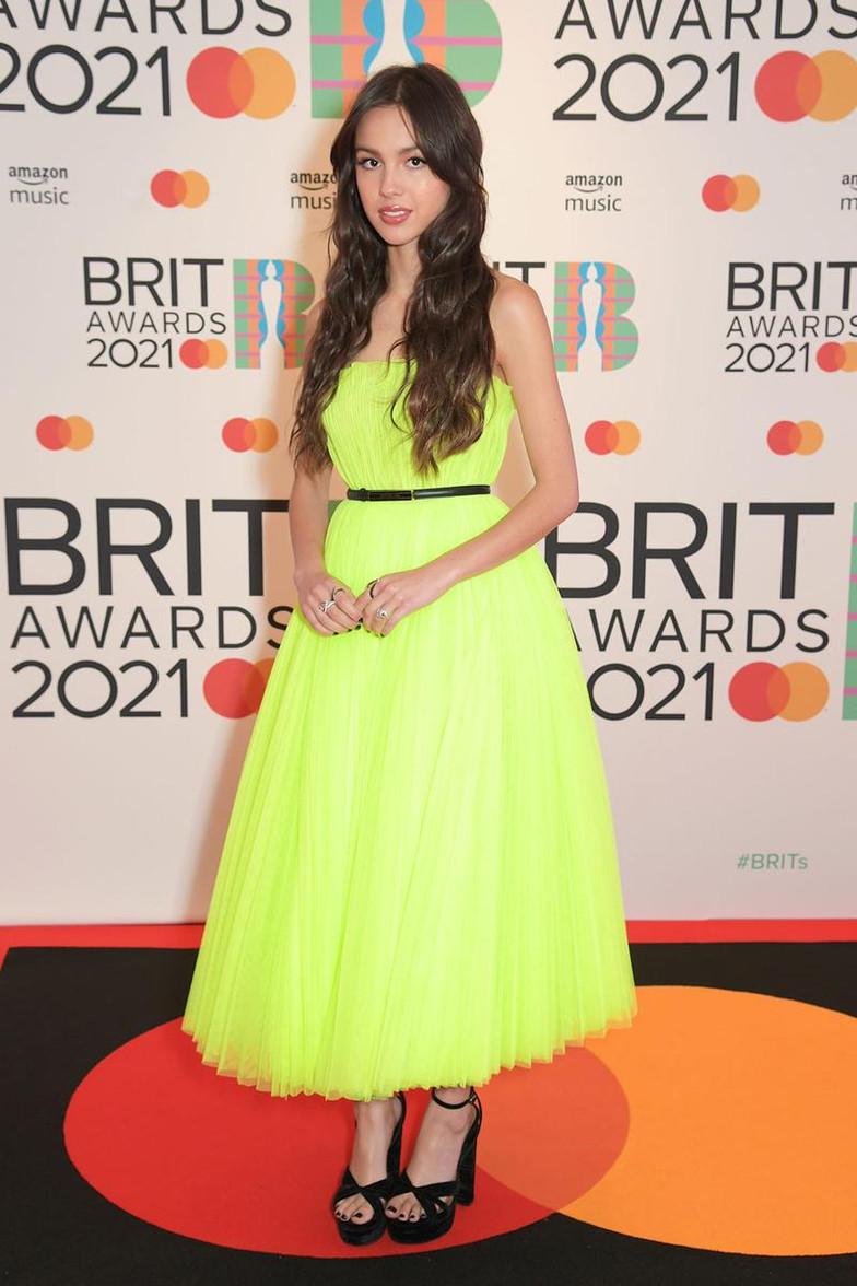 Fashion at the Brit Awards 2021