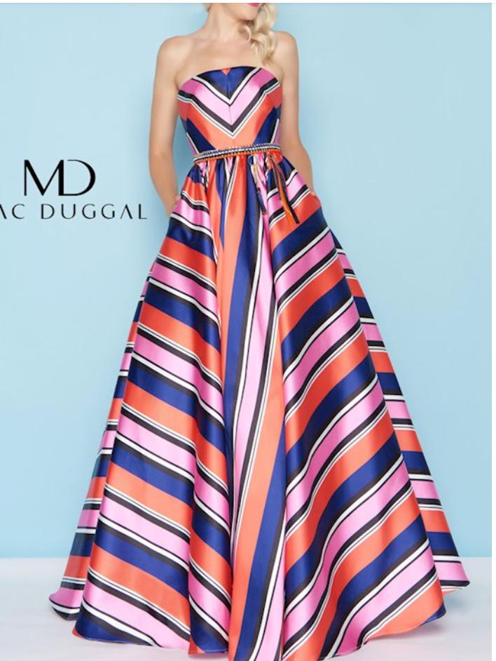 Lexy Silverstein Prom Trends 2021 Stripes
