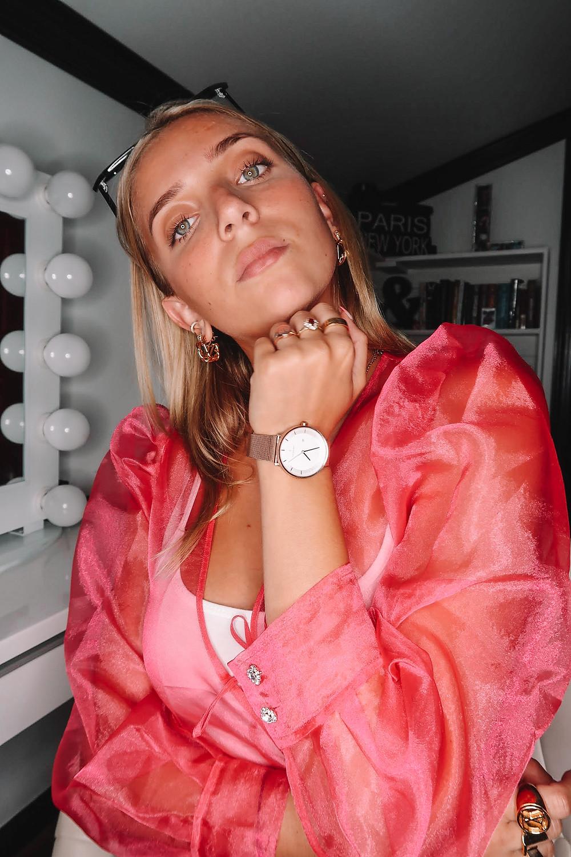Lexy Silverstein in Nordgreen Watch