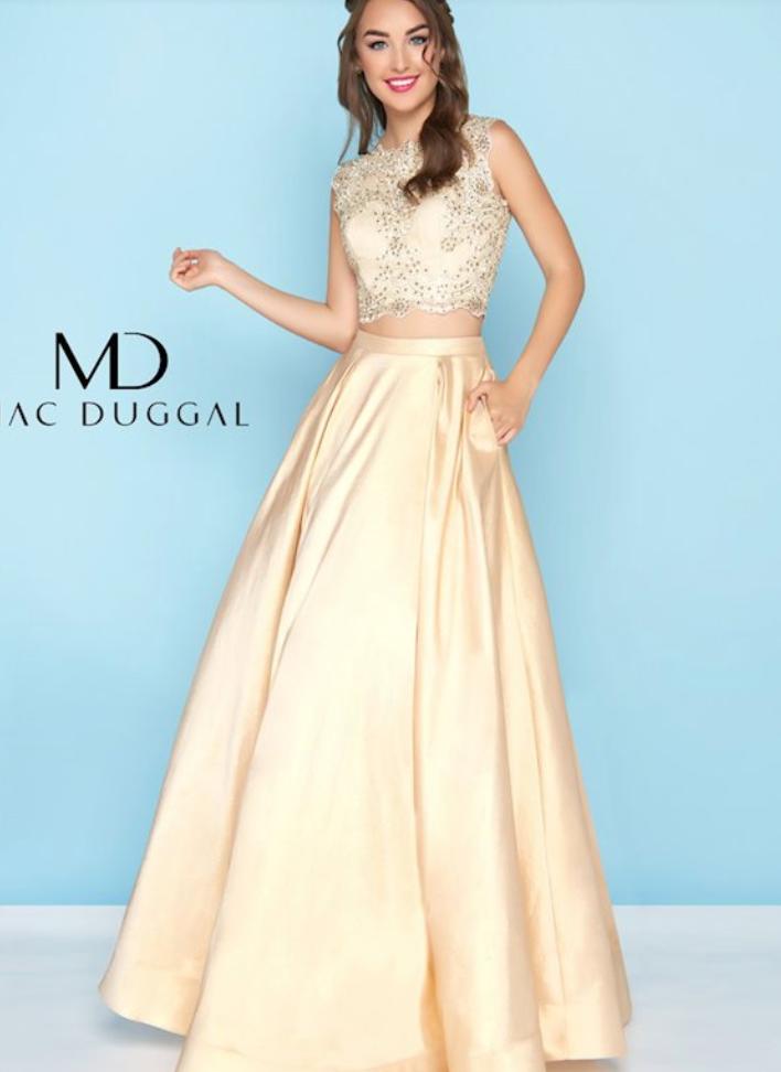 Lexy Silverstein Two-Piece Prom Dress