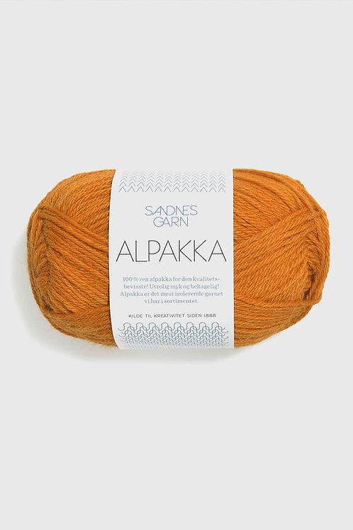 Alpakka 2337 (Mörk ockra)