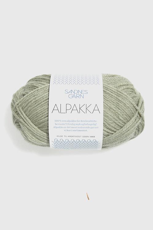 Alpakka 9521 (Blek pistage)