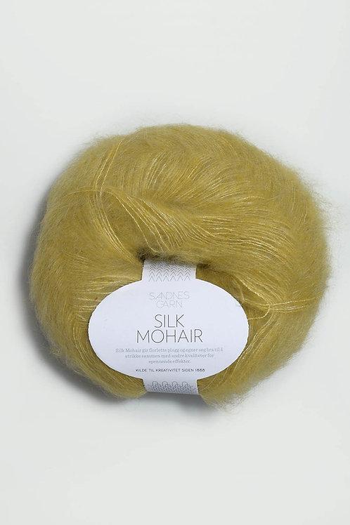 Silk Mohair 2024 (Gulgrön)