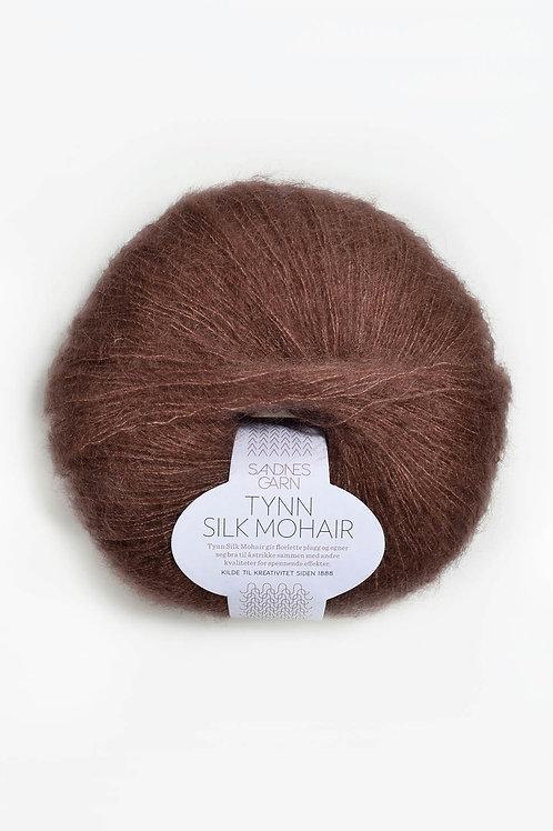 Tunn Silk Mohair 4062 (Dovt brun)