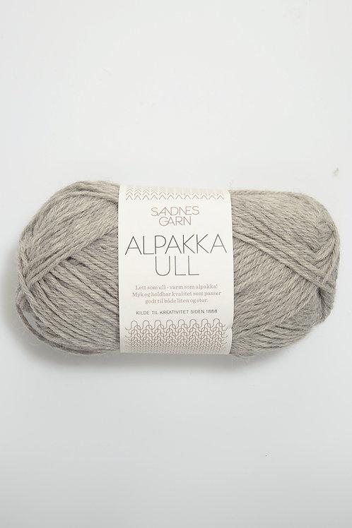 Alpakka Ull 1042 (Gråmelerad)