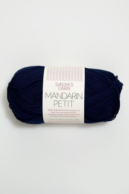 Mandarin Petit 6073 (Marinblå)