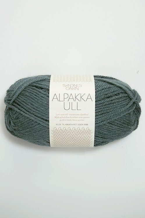 Alpakka Ull 7572 (Petroleum)