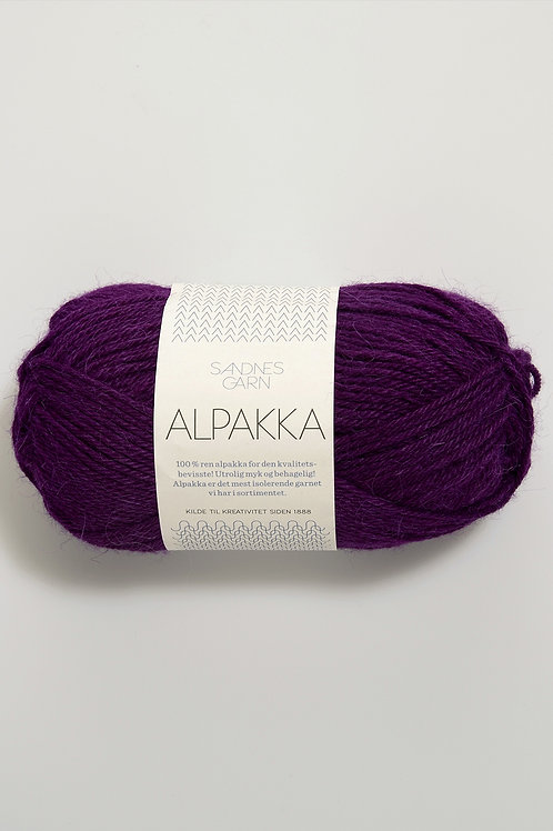 Alpakka 5037 (Mörklila)