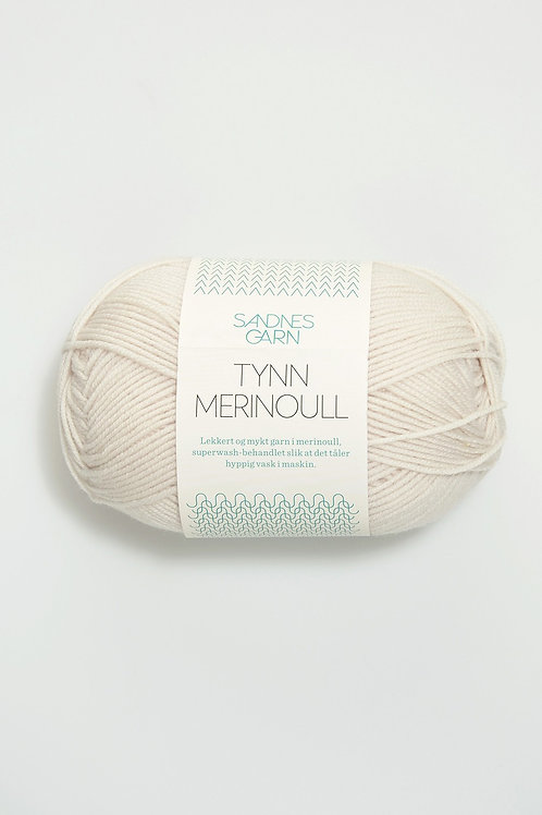 Tunn Merinoull 1015 (Kitt)