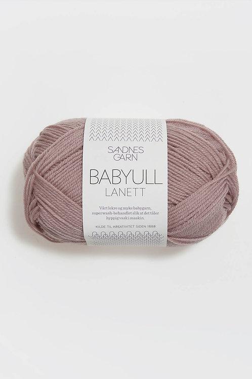 Babyull Lanett 4321 (Ljus grålila)
