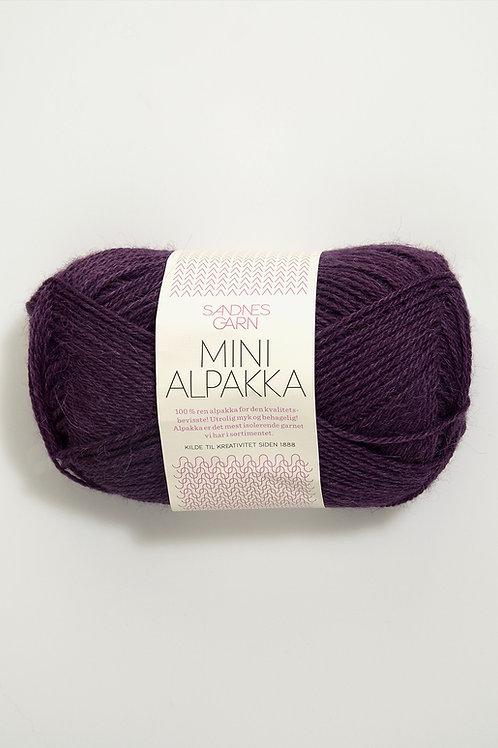Mini Alpakka 4855 (Mörklila)